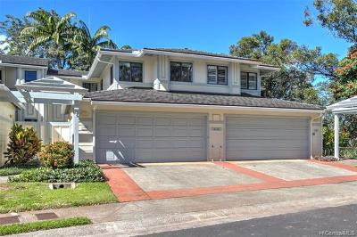 Mililani Condo/Townhouse For Sale: 95-195 Waioleka Street #48