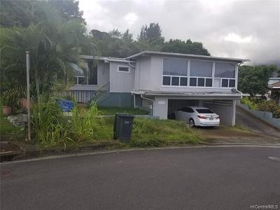 Kaneohe Single Family Home For Sale: 45-115 Miha Street