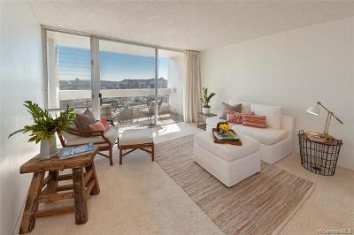 Condo/Townhouse In Escrow Showing: 1212 Punahou Street #3104