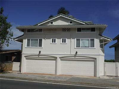 Hauula Single Family Home For Sale: 53-855 Kamehameha Highway