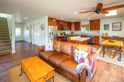 Haleiwa Single Family Home For Sale: 66-419 Paalaa Road #A