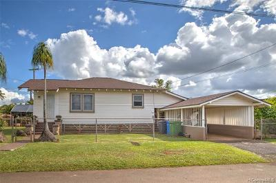Wahiawa Single Family Home For Sale: 330 Thomas Street