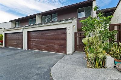 Kaneohe Condo/Townhouse For Sale: 47-291c Hui Iwa Street #243