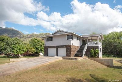 Waianae Single Family Home For Sale: 84-221 Makaha Valley Road