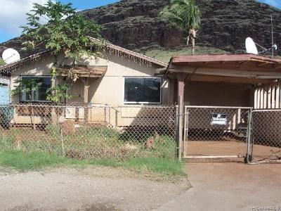Waianae Single Family Home For Sale