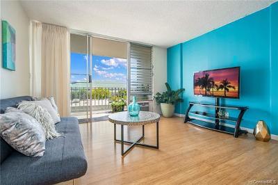 Honolulu County Condo/Townhouse For Sale: 475 Atkinson Drive #1205