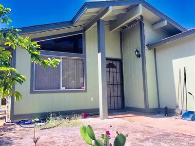Waianae Single Family Home For Sale: 86-190 Moelua Street