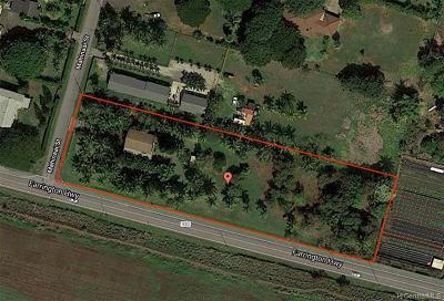 Waialua Single Family Home For Sale: 68-346 Mahinaai Street