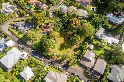 Honolulu Residential Lots & Land For Sale: 3651a Alani Drive
