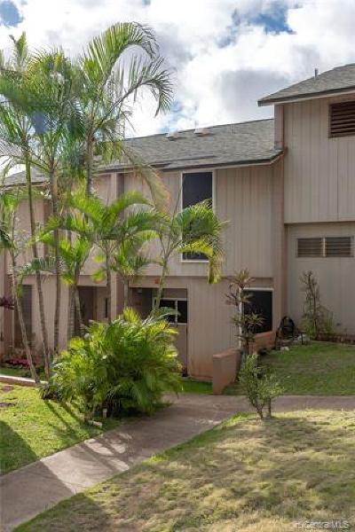 Kapolei Condo/Townhouse For Sale: 92-731 Makakilo Drive #5