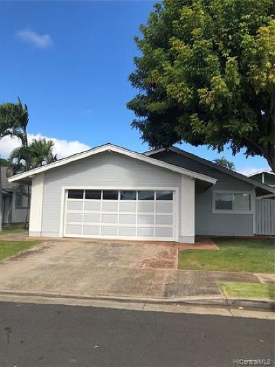 Single Family Home For Sale: 94-1060 Hanauna Street