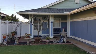 Single Family Home For Sale: 91-1049 Kaupea Street