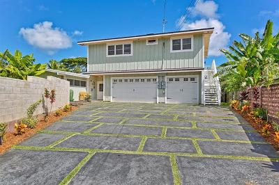 Kailua Single Family Home In Escrow Showing: 885 Akiu Place