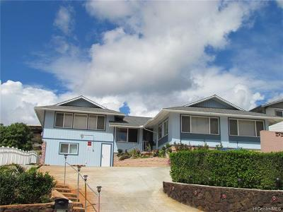 Aiea Single Family Home For Sale: 98-1374 Akaaka Street