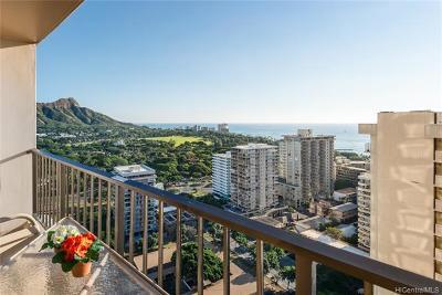 Honolulu Condo/Townhouse For Sale: 229 Paoakalani Avenue #2712