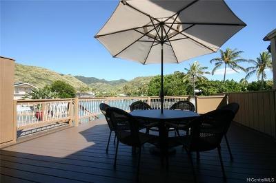 Honolulu County Condo/Townhouse For Sale: 6370 Hawaii Kai Drive #21