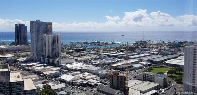 Hawaii County, Honolulu County Condo/Townhouse For Sale: 801 South Street #3605
