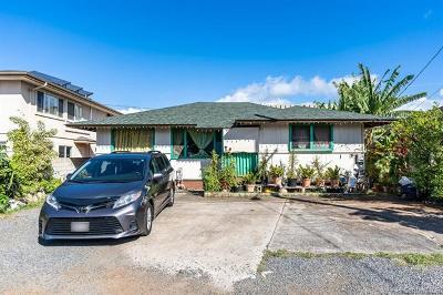 Honolulu Single Family Home For Sale: 1228 Makalapua Place