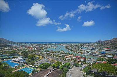 Honolulu Condo/Townhouse For Sale: 6770 Hawaii Kai Drive #1407
