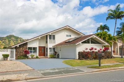 Single Family Home For Sale: 786 Kalanipuu Street