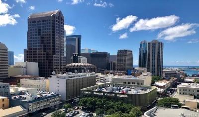 Honolulu Condo/Townhouse For Sale: 1212 Nuuanu Avenue #1402