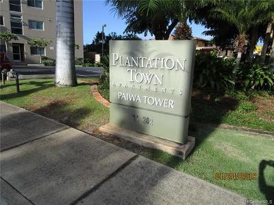 Waipahu Condo/Townhouse For Sale: 94-302 Paiwa Street #808