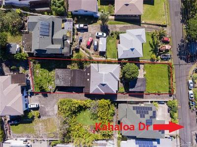 Single Family Home For Sale: 3030 Kahaloa Drive