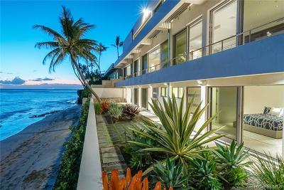 Honolulu Single Family Home For Sale: 3311 Beach Road