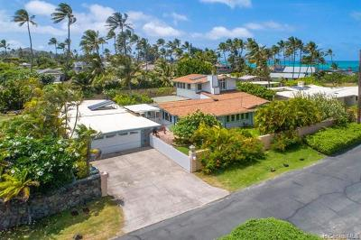 Kailua Single Family Home For Sale: 160 Kaapuni Drive