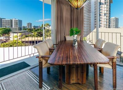Condo/Townhouse For Sale: 1634 Makiki Street #506