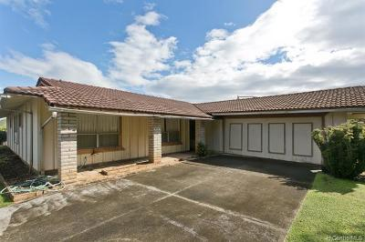 Kailua Single Family Home For Sale: 1308 Onaona Place
