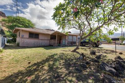 Waianae Single Family Home For Sale: 87-1442 Akowai Road