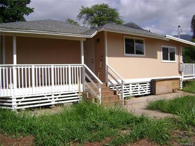 Waianae Single Family Home For Sale: 85-718 Farrington Highway