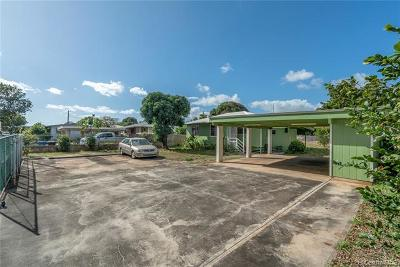 Ewa Beach Single Family Home For Sale: 91-1342 Renton Road