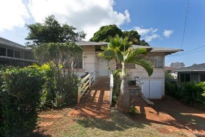 Single Family Home For Sale: 3211 Kaimuki Avenue