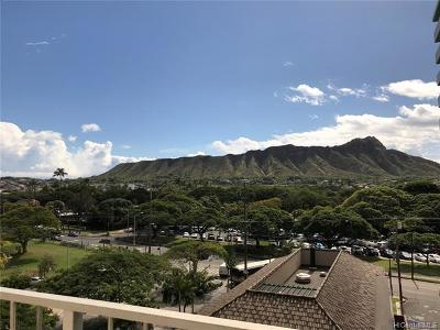 Honolulu Condo/Townhouse For Sale: 2575 Kuhio Avenue #704