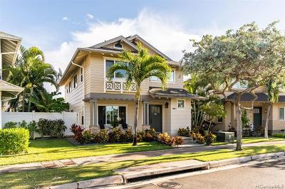 Ewa Beach Single Family Home For Sale: 91-1011 Kai Loli Street