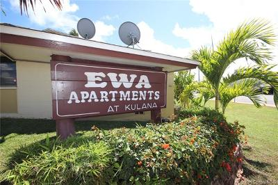 Ewa Beach Condo/Townhouse For Sale: 91-913 North Road #G5
