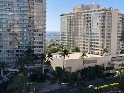 Honolulu Condo/Townhouse For Sale: 1804 Ala Moana Boulevard #13B