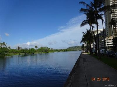 Honolulu Condo/Townhouse For Sale: 2421 Ala Wai Boulevard #804