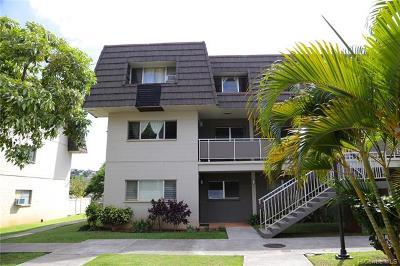 Honolulu Condo/Townhouse For Sale: 4280 Salt Lake Boulevard #F20