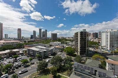 Honolulu Condo/Townhouse For Sale: 757 Kinalau Place #1002