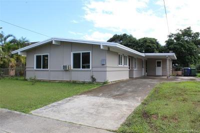 Kailua HI Single Family Home For Sale: $916,000