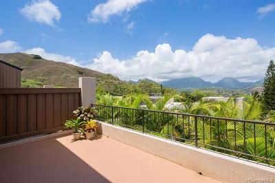 Kailua Condo/Townhouse For Sale: 411c Kaelepulu Drive #1603