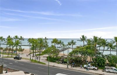 Honolulu Condo/Townhouse For Sale: 2500 Kalakaua Avenue #502