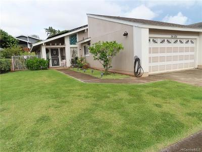Waipahu Single Family Home For Sale: 94-1154 Heahea Street