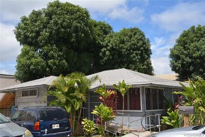 Pearl City Single Family Home For Sale: 98-005 Kaluamoi Place