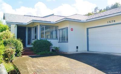 Honolulu Single Family Home For Sale: 1576 Kamohoalii Street