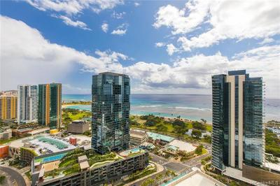 Honolulu Condo/Townhouse For Sale: 1001 Queen Street #3308