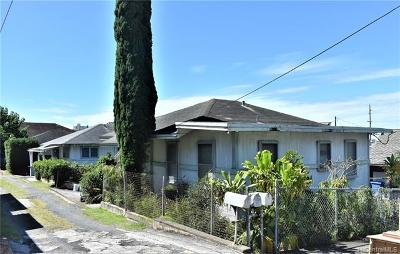Single Family Home For Sale: 3523a Maluhia Street